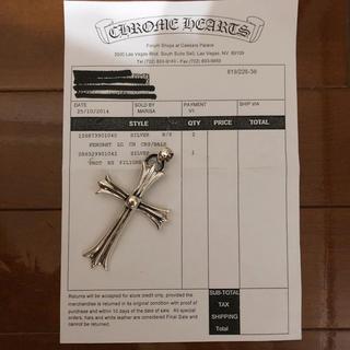 クロムハーツ(Chrome Hearts)のクロムハーツ ラージクロス ネックレス(ネックレス)