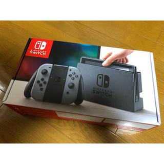 ニンテンドウ(任天堂)の【新品未開封】Nintendo Switch Joy-Con(L)/(R)グレー(家庭用ゲーム機本体)
