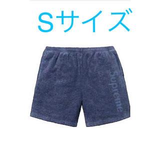 シュプリーム(Supreme)のSupreme terry logo short /新品タグ付き(ショートパンツ)