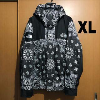 シュプリーム(Supreme)の希少 Supreme Bandana Mountain Parka 黒 XL(マウンテンパーカー)