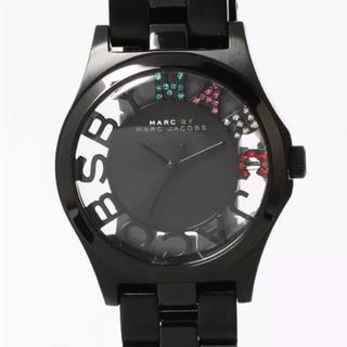 マークバイマークジェイコブス(MARC BY MARC JACOBS)のMARC BY JACOBS 腕時計 スケルトン クリア(腕時計(アナログ))