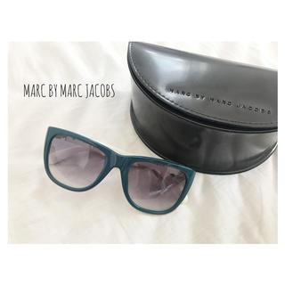 マークバイマークジェイコブス(MARC BY MARC JACOBS)のMARC BY MARC JACOBS バイカラーサングラス(サングラス/メガネ)