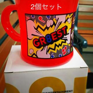 カンジャニエイト(関ジャニ∞)のGR8EST プラカップ  名古屋  関ジャニ∞ 2個セット(アイドルグッズ)