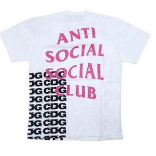コムデギャルソン(COMME des GARCONS)のCDG ASSC コラボTシャツ L 新品(Tシャツ/カットソー(半袖/袖なし))
