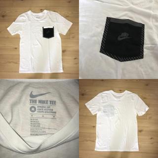 ナイキ(NIKE)のNIKE Tシャツ ホワイト 白 陸上 ウェア シャツ 半袖 水着 ランニング(Tシャツ/カットソー(半袖/袖なし))
