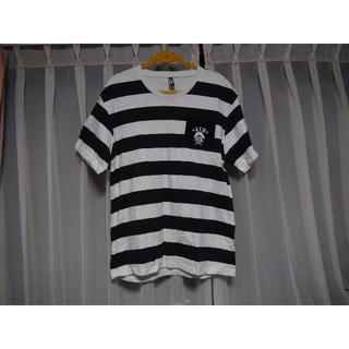 KTMのTシャツ マリンルック(XL) 白で黒のマリン柄(Tシャツ/カットソー(半袖/袖なし))