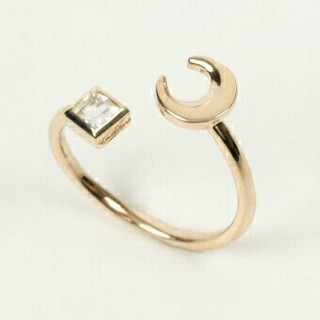 エナソルーナ(Enasoluna)の専用です エナソルーナ Twinkle ring (Moon) リング(リング(指輪))