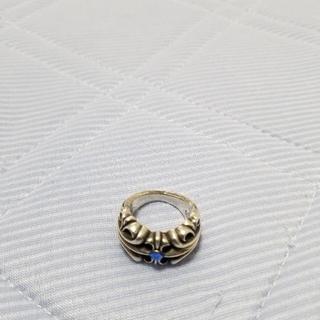 クロムハーツ(Chrome Hearts)のk&tリング!当時15万円。最終価格!(リング(指輪))