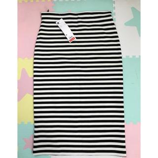 GU - GU購入♡ボーダータイトスカート♡M size