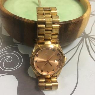 マークバイマークジェイコブス(MARC BY MARC JACOBS)のMARC レディース腕時計(腕時計)