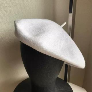GU - 美品 ♡ GUベレー帽 ♡ ホワイト