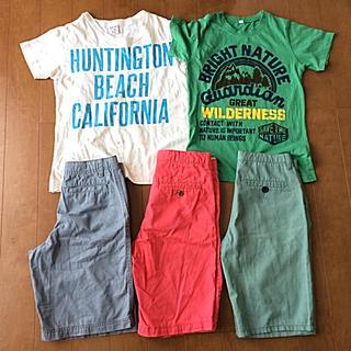 GAP Kids - 男の子 150サイズ セット Tシャツ ハーフパンツ 男児