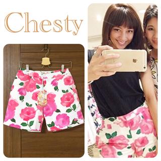 Chesty - 新品タグ付き✨チェスティ  フラワーパンツ 定価 16,200円