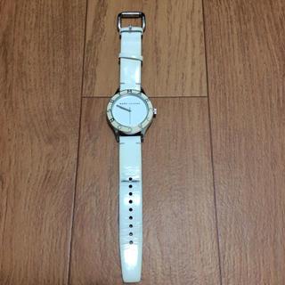 マークバイマークジェイコブス(MARC BY MARC JACOBS)のMARC JACOBS 腕時計 白(腕時計)