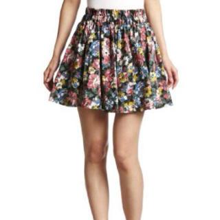 ローリーズファーム(LOWRYS FARM)のサテンオオバナスカート(ミニスカート)