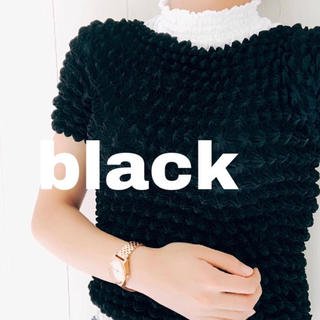 GU - GU ポップコーン Tシャツ ブラック 黒 フリーサイズ♡新品