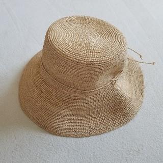 無印良品 ラフィア麦わら帽子