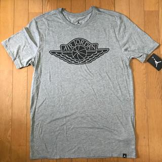 ナイキ(NIKE)の早い者勝ち!新品 JORDAN ジョーダン Tシャツ 灰色 L NIKE グレー(Tシャツ/カットソー(半袖/袖なし))