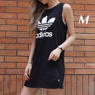 adidas - adidas M♡ ワンピース [TREFOIL TANK DRESS]