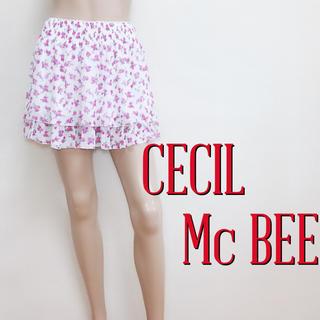 CECIL McBEE - もて服♪セシルマクビー ガーリー フレアスカート♡ダズリン リエンダ