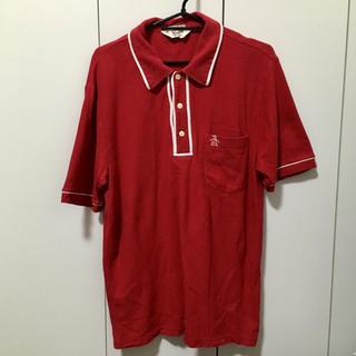 マンシングウェア(Munsingwear)のポロシャツ 赤(ポロシャツ)
