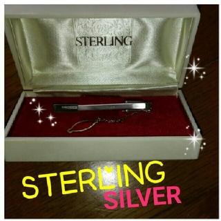 スターリング(STERLING)の✨❤大晦日限定特価✨❣【極美品っ✨】SILVER STERLING❤ネクタイピン(その他)