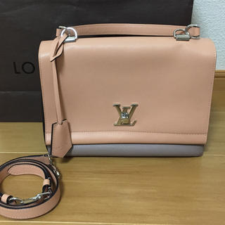 LOUIS VUITTON - 美品 ルイヴィトン  ロックミー    ピンク