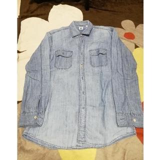 ユニクロ(UNIQLO)のデニムシャツ《長袖》&ピングーバッグ《かくもり様専用》(シャツ)