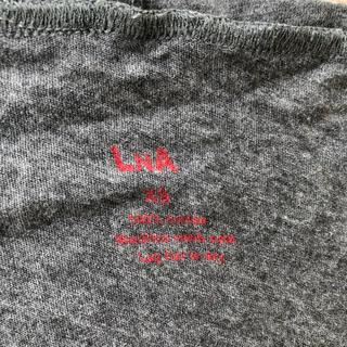 エルエヌエー(LnA)のLnA グレー XS(Tシャツ(半袖/袖なし))