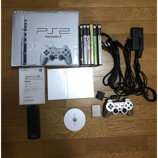 プレイステーション(PlayStation)のPlayStation2 本体+カセット(家庭用ゲーム機本体)