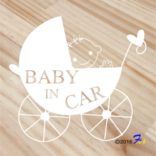 Baby In CAR04 ステッカー(その他)