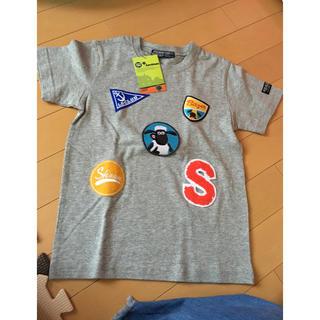 リトルベアークラブ(LITTLE BEAR CLUB)の新品未使用 ひつじのショーン 130 ティーシャツ(Tシャツ/カットソー)
