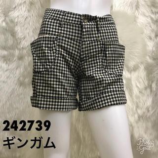 大手通販品☆ロールアップ ショートパンツ242739☆58cm (ショートパンツ)
