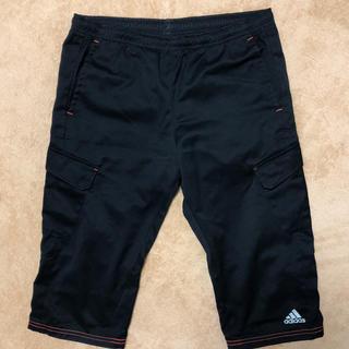 アディダス(adidas)のアディダスハーフパンツ160(黒)(パンツ/スパッツ)