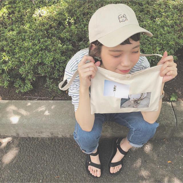 村濱遥ちゃん やぶちんさん イベント サコッシュ&キャップ  新品未使用 レディースのバッグ(ショルダーバッグ)の商品写真