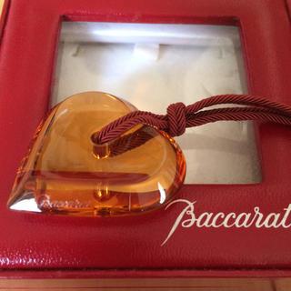 Baccarat - バカラ ネックレス アラフォリ ハート クリスタルガラス