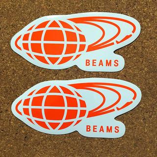 ビームス(BEAMS)のBEAMS ステッカー2枚セット(しおり/ステッカー)