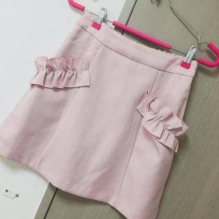 ROJITA - ポケットフリル台形スカート