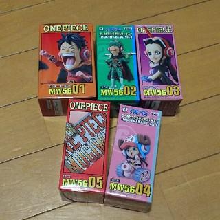 バンプレスト(BANPRESTO)のワンピース ワールドコレクタブル フィギュア 5種(アニメ/ゲーム)