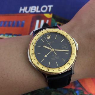 ウブロ(HUBLOT)のHUBLOT MDM ウブロ GMTモデル 36ミリ K18 hublot(腕時計(アナログ))