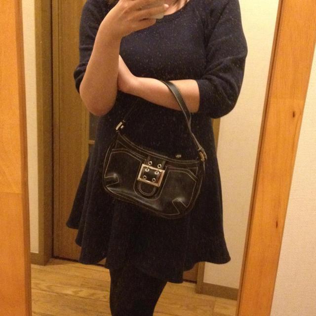 23区(ニジュウサンク)の黒のミニハンドバッグ♡ レディースのバッグ(ハンドバッグ)の商品写真