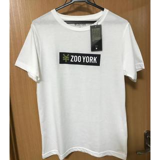 ズーヨーク(ZOO YORK)のzoo york box logo tシャツ Mサイズ(Tシャツ/カットソー(半袖/袖なし))