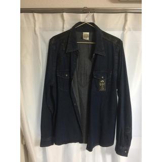 クロムハーツ(Chrome Hearts)のデニムシャツ ジャケット(Gジャン/デニムジャケット)