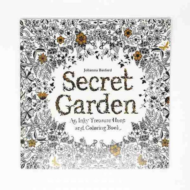 塗り絵 英語版 秘密の花園 Bvcの通販 By ほのかs Shopラクマ