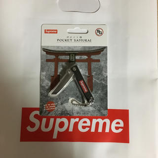 シュプリーム(Supreme)のSupreme 18SS Pocket Samurai Black(キーホルダー)