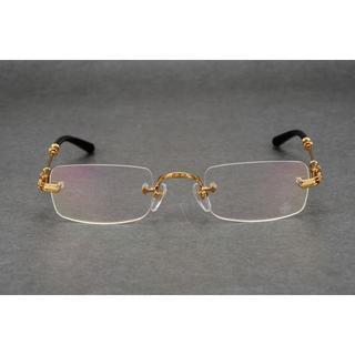 クロムハーツ(Chrome Hearts)のクロムハーツ 眼鏡 メガネ 伊達メガネ(サングラス/メガネ)
