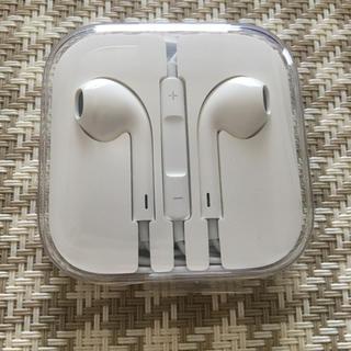 アイフォーン(iPhone)のiPhoneイヤフォン(iPhone5S購入時の付属品)(ヘッドフォン/イヤフォン)