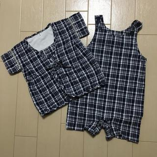 ムジルシリョウヒン(MUJI (無印良品))の無印良品 キッズ 甚平 サイズ90 (甚平/浴衣)