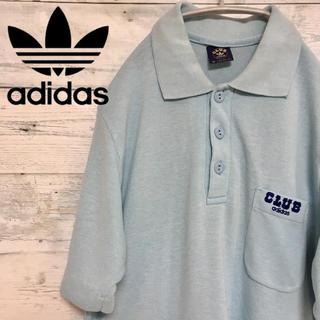 アディダス(adidas)の【激レア】adidas CLUB adidas 70s 80s ロゴ ポロシャツ(ポロシャツ)