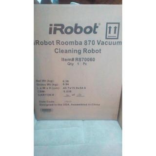 アイロボット(iRobot)のルンバ 870(掃除機)